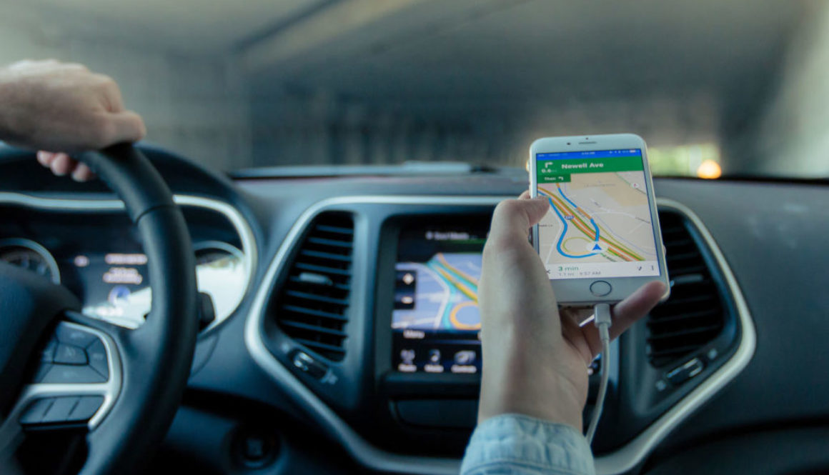 Driving Map APP